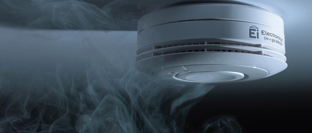 Rauchwarnmelder Ei605_mit_Rauch