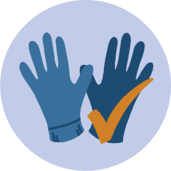 Hygiene-Handschuhe